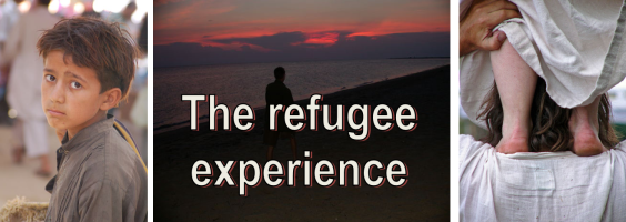 the refugee experience banner